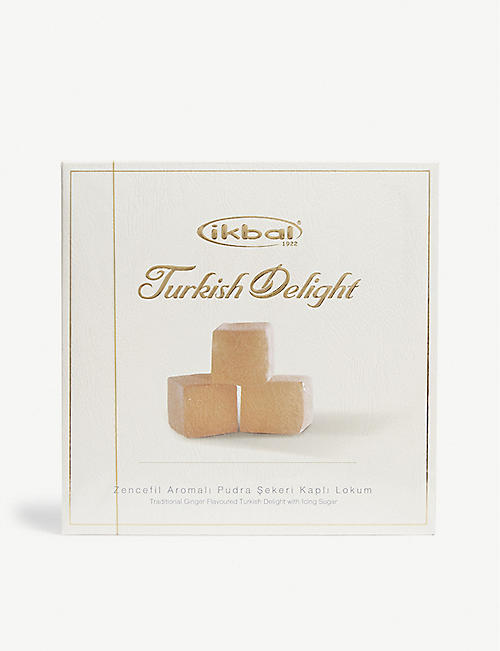 IKBAL: Ginger turkish delight 400g