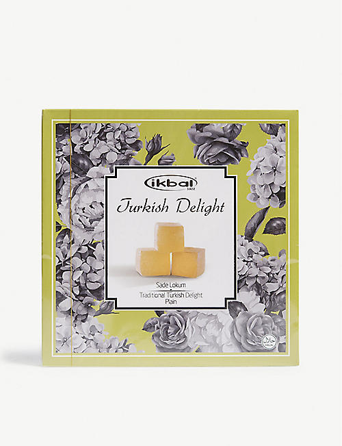 IKBAL: Plain turkish delight 400g