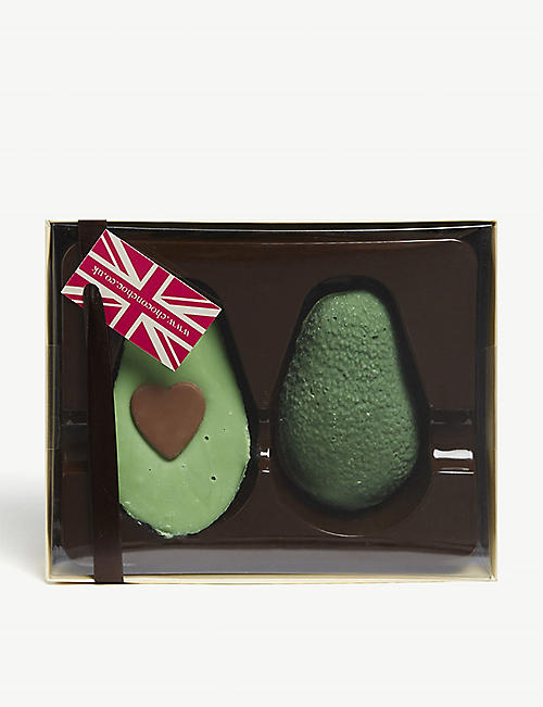 CHOC ON CHOC: Avocado-shaped chocolates 220g