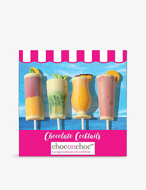 CHOC ON CHOC Chocolate cocktail lollies 320g