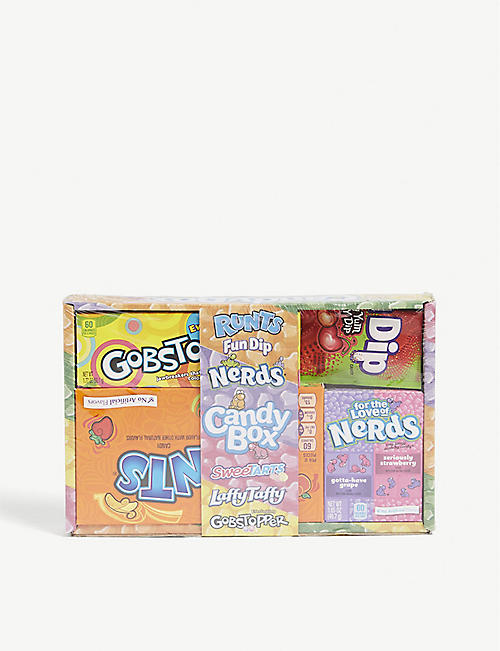 NERDS: Small Nerds American sweet selection box 250g