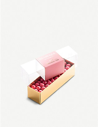 SELAMLIQUE: Rose white chocolate hazelnuts 200g