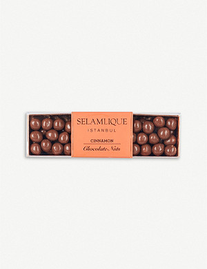 SELAMLIQUE Cinnamon milk chocolate hazelnuts 200g