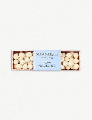 SELAMLIQUE Mastic white chocolate hazelnuts 200g