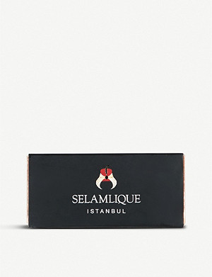 SELAMLIQUE Delicacy white chocolate pistachio and almond croquants 60g