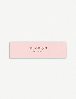 SELAMLIQUE Rose white chocolate almonds 250g