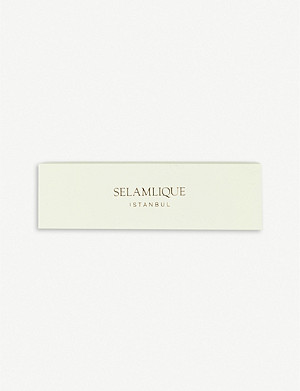 SELAMLIQUE Mastic white chocolate almonds 250g