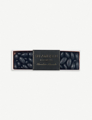 SELAMLIQUE Matte dark chocolate almonds 250g
