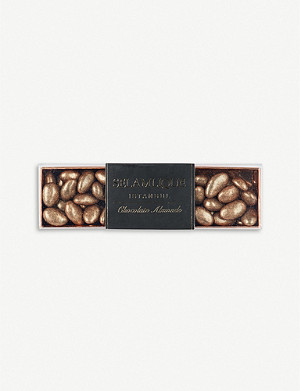 SELAMLIQUE Gold milk chocolate almonds 250g