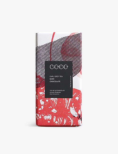CHOCOLATE: Earl Grey Tea and Bergamot dark chocolate bar 80g