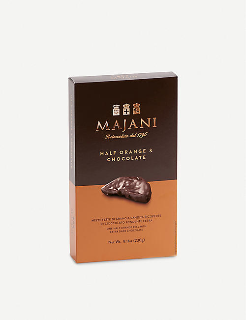 MAJANI Dark chocolate orange segments 230g