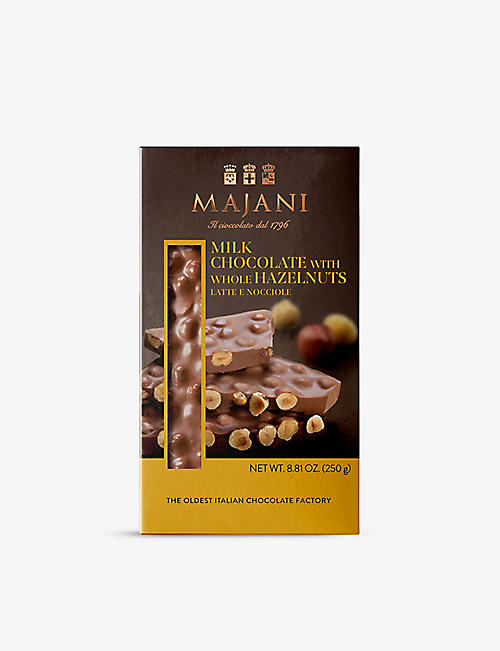 MAJANI: Hazelnut milk chocolate bar 250g