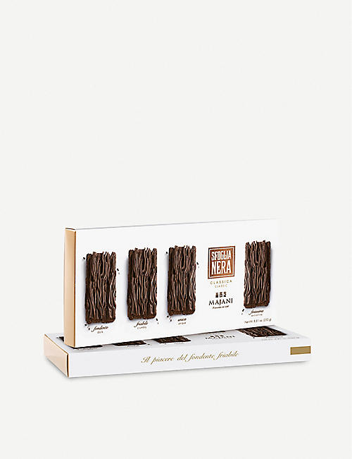 MAJANI Dark chocolate Sfoglia Nera bars 250g