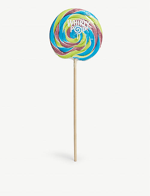 WHIRLY POP Rainbow swirl lollipop 15cm
