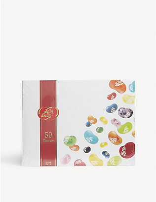 JELLY BELLY: Gift box 50 flavours 600g