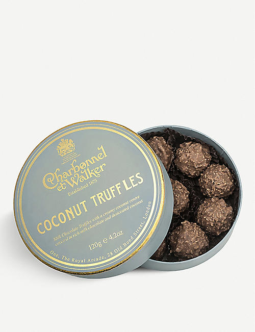 CHARBONNEL ET WALKER: Milk chocolate coconut truffles 105g
