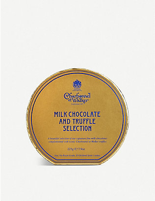 CHARBONNEL ET WALKER: Milk chocolate and truffle selection 225g