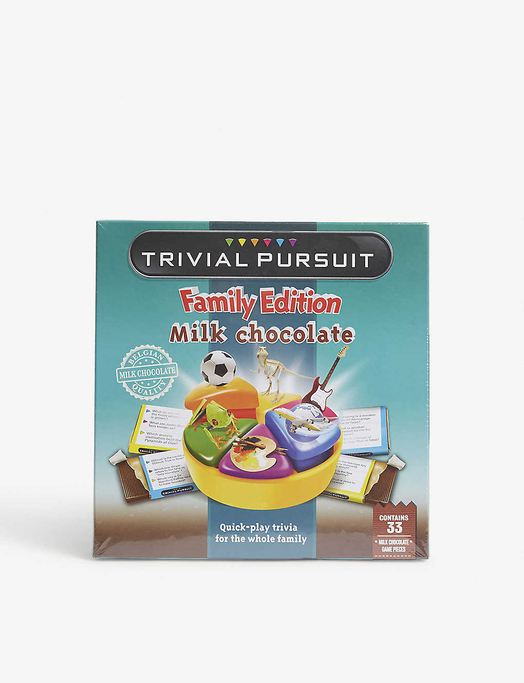 GAMES IN MOTION: Chocolate Trivial Pursuit 154g