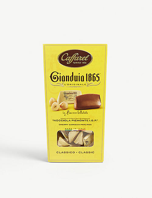 CAFFAREL Gianduia 1865 gianduja chocolate hazelnut pralines 100g
