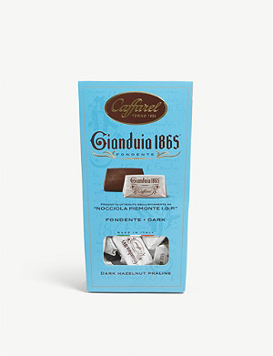 CAFFAREL Gianduia 1865 dark gianduja chocolate hazelnut pralines 100g