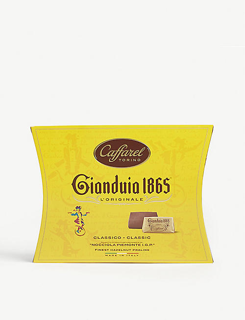 CAFFAREL Gianduia 1865 gianduja chocolate hazelnut pralines 200g