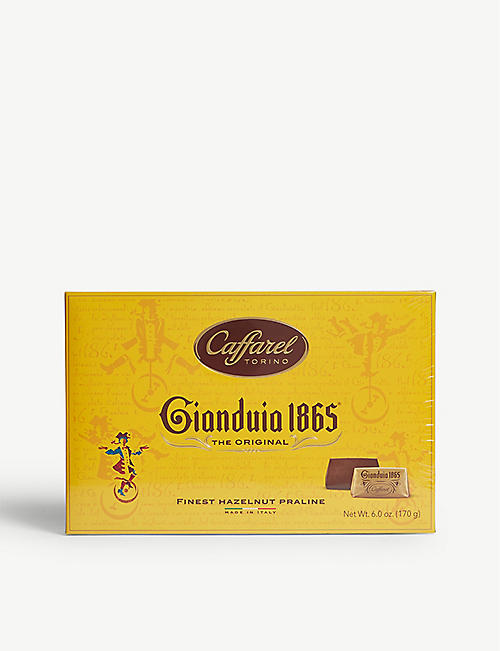 CAFFAREL Gianduia praline chocolate box 170g