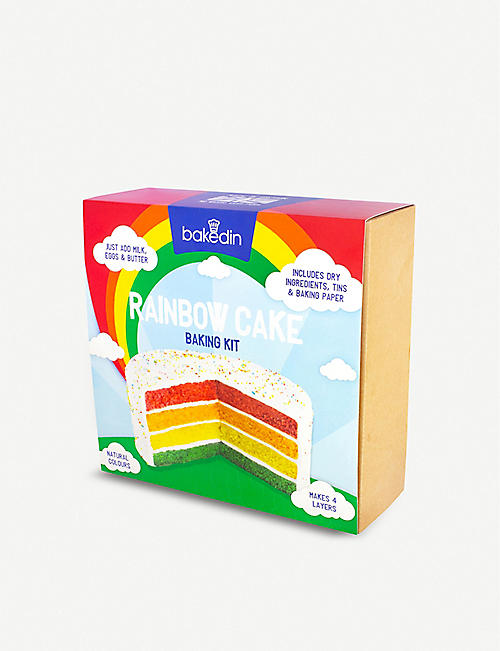 CANDY CRUSH: Rainbow cake baking kit 1.05kg