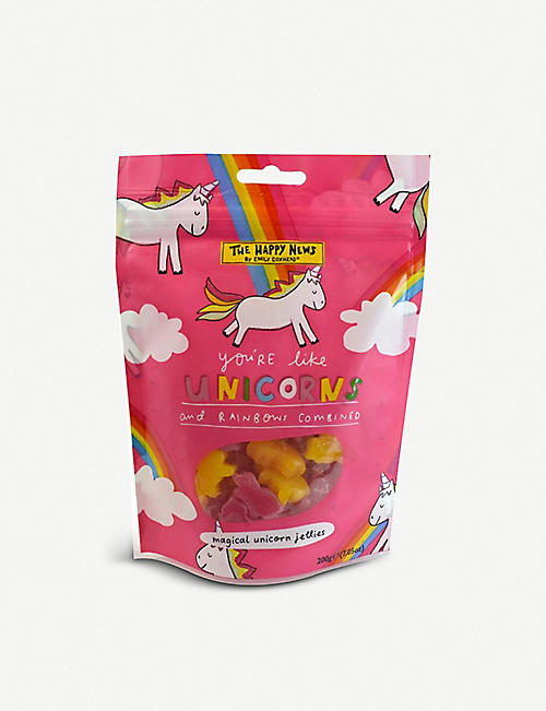 CHOCOLATE: Happy News Unicorns Sharing Bag 200g