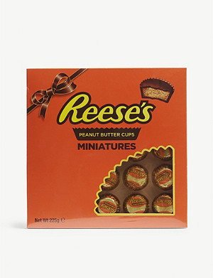 REESE'S Peanut butter cups miniatures 25-pack 225g