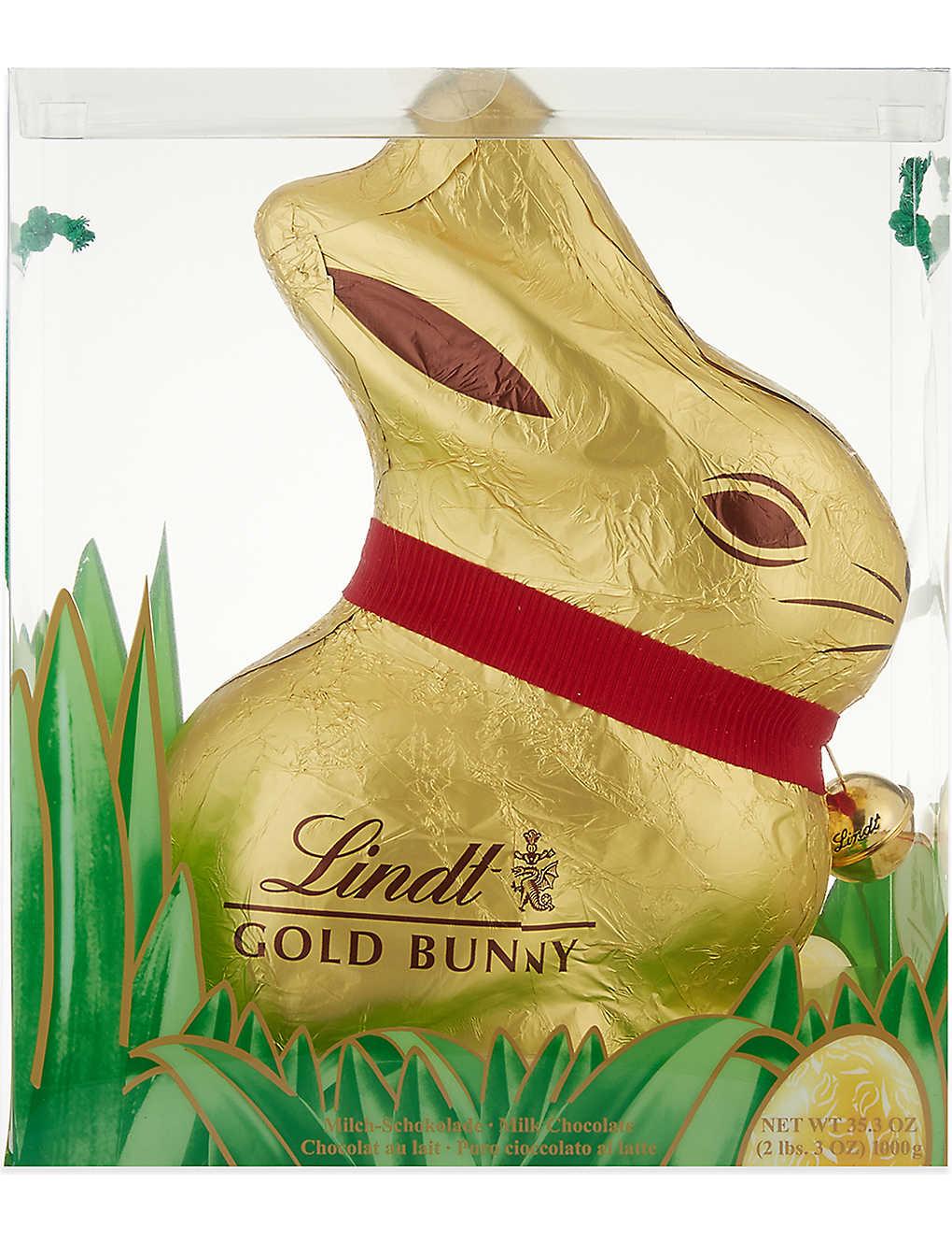 Lindt Gold Bunny 1kg Selfridgescom