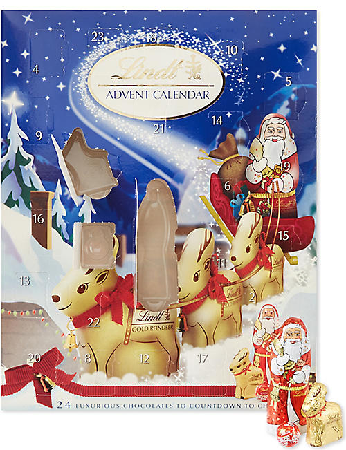 LINDT Chocolate Advent calendar 160g