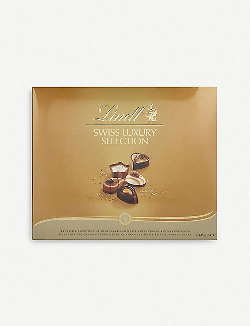LINDT: Swiss Luxury Selection 445g