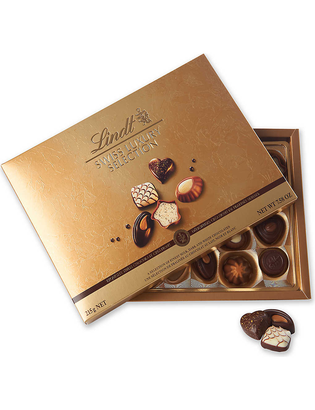 LINDT: Swiss Luxury chocolate selection 195g
