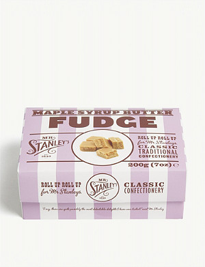 MR STANLEY'S Luxury maple fudge 200g