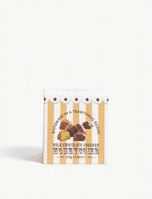 MR STANLEY'S Milk chocolate honeycomb box 120g