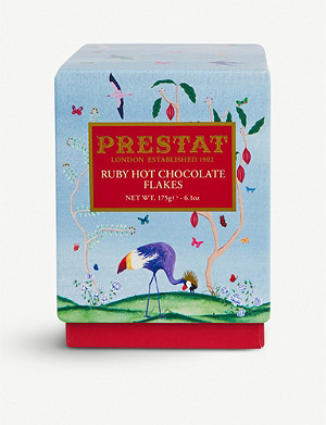 PRESTAT Ruby hot chocolate flakes 175g