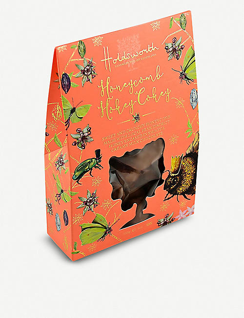 HOLDSWORTH Honeycomb Hokey Cokey milk chocolate honeycomb 150g