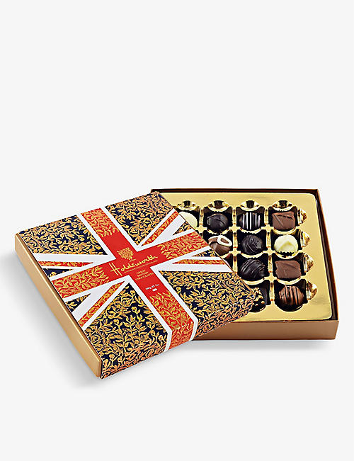 HOLDSWORTH: The Union Jack assorted chocolates box 200g