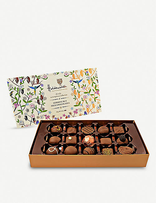 HOLDSWORTH Nothing But Milk Chocolate Collection box 185g
