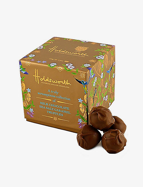 HOLDSWORTH: Salted caramel milk chocolate truffles 100g