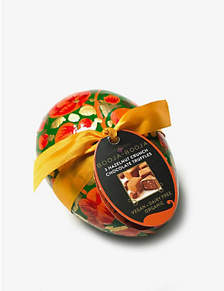 BOOJA BOOJA: Organic hazelnut chocolates decorative Easter egg 35g