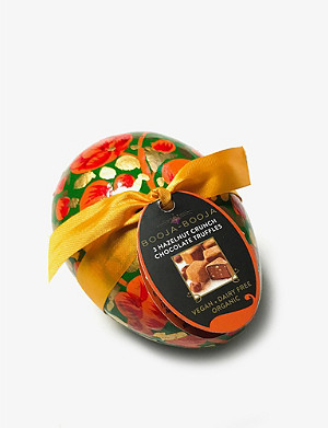 BOOJA BOOJA Organic hazelnut chocolates decorative Easter egg 35g