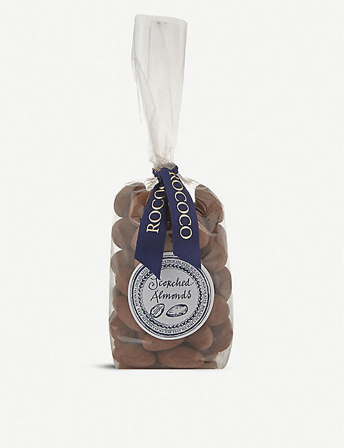 ROCOCO: Cocoa dusted scorched almonds 200g
