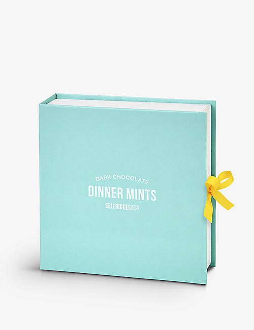 SELFRIDGES SELECTION Dark Chocolate Dinner Mints 125g