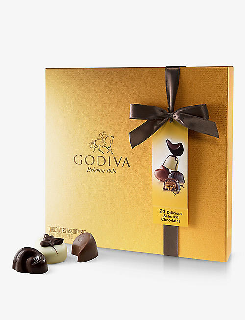 GODIVA: Gold Collection assorted chocolates 290g
