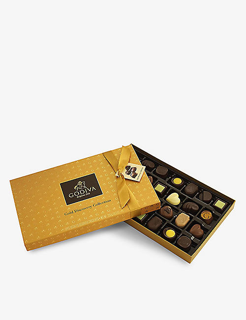 GODIVA: Gold Discovery chocolate assortment 310g