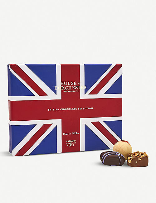 HOUSE OF DORCHESTER: British chocolate selection box 150g