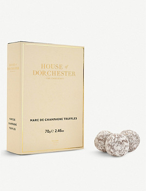 HOUSE OF DORCHESTER Chocolate truffle selection box of 12