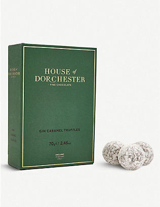 HOUSE OF DORCHESTER: Gin Caramel truffles 70g