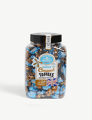 WALKERS Salted caramel toffees 1.25kg
